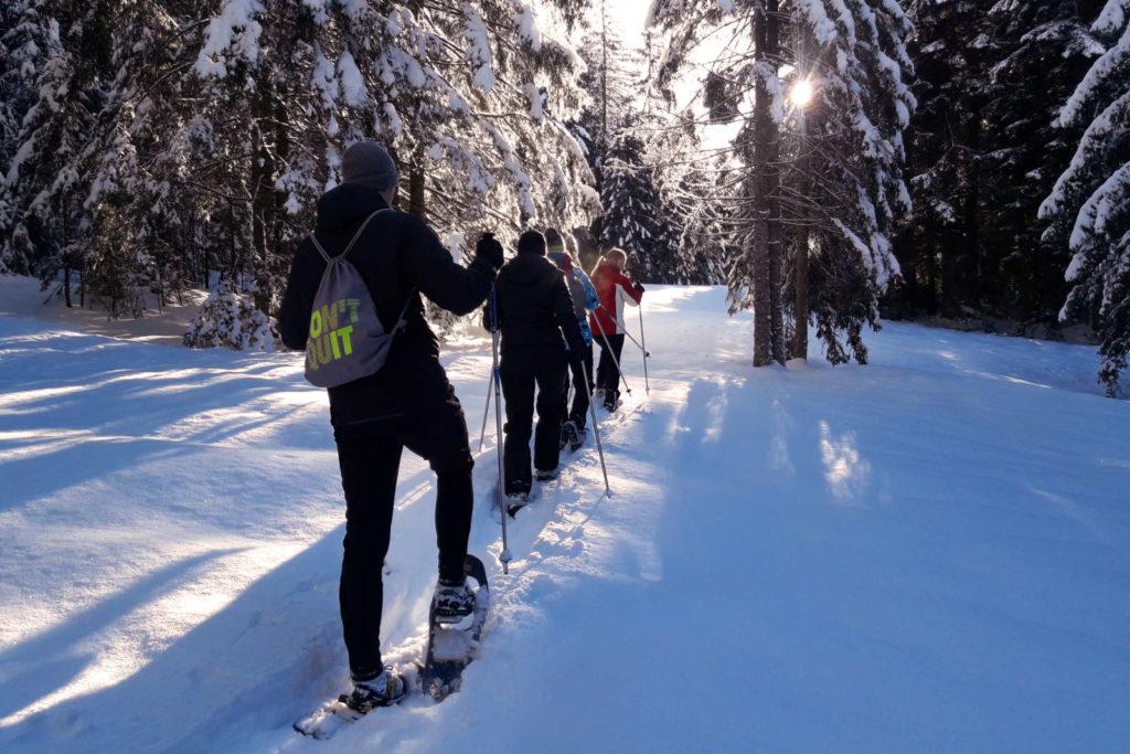 Skischule Schwarzenberg Schneeschuhwanderung